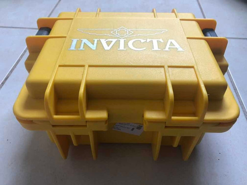estuche caja para 3 relojes invicta alto impacto