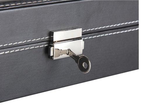 estuche caja para guardar 12 relojes, regalo empresarial
