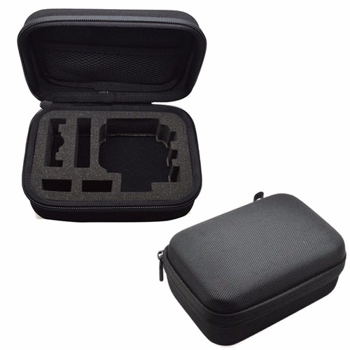 estuche cámara para gopro sjcam sony anticaídas impermeable