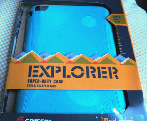 estuche carcasa explorer de seguridad ipad mini griffin