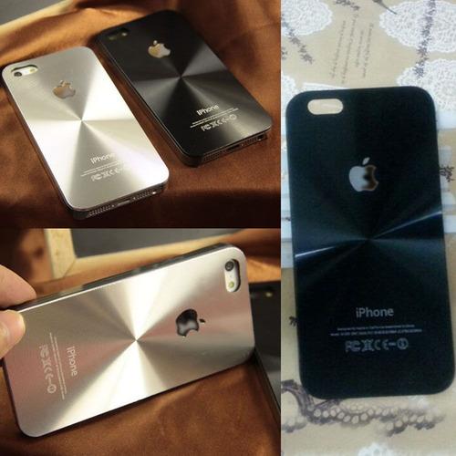 estuche carcasa iphone 5, 5s, y 6, en aluminio.