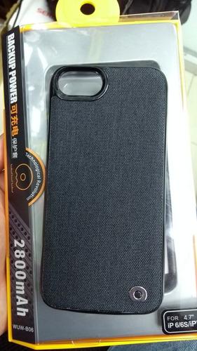 estuche cargador de iphone 7