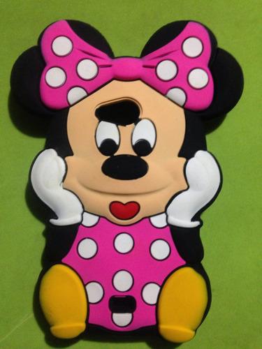 estuche case 3d minnie mouse spirit lg l70 lg bello nokia