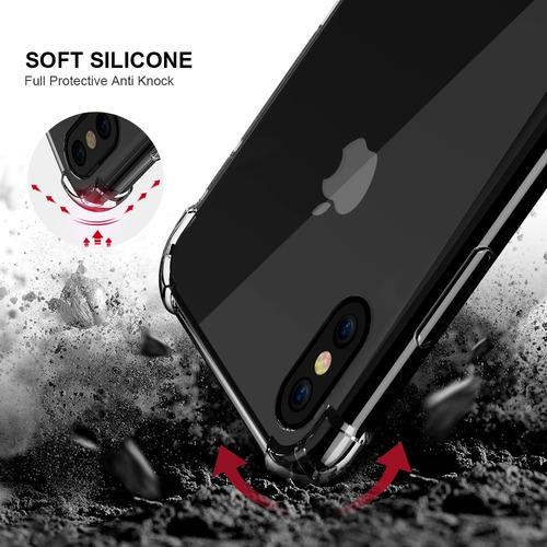 estuche case antishock iphone 6s 7 8 plus xs xr s9 s8 plus