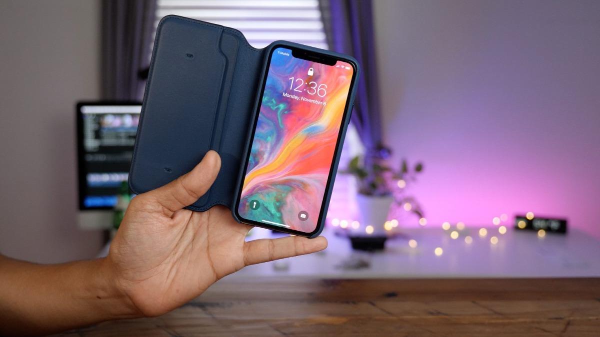 Estuche Case Apple Cuero Tipo Agenda Iphone 6 6s 7 8 Plus