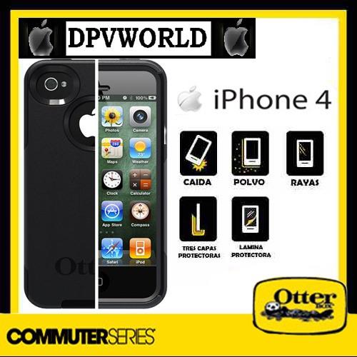 estuche case iphone 4 4s otterbox commuter