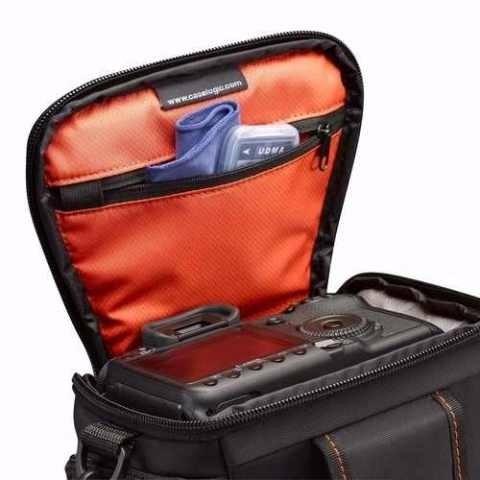 estuche caselogic para nikon p500 p520 p530 p600 l810 l830