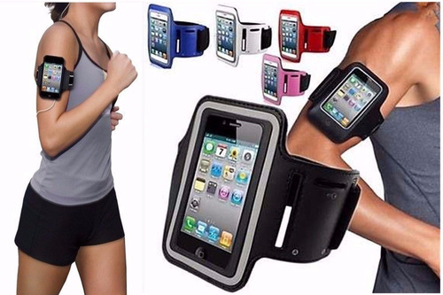 estuche celular de brazo correr ejercicio