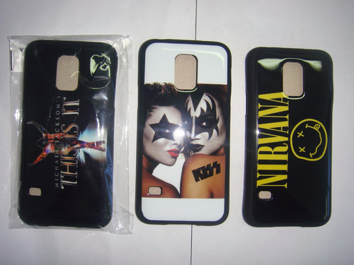 estuche cover rock samsung s5 mini