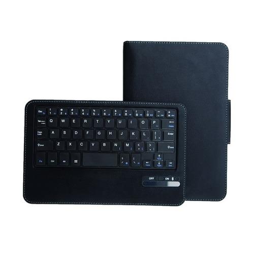estuche cuero teclado bluetooth para samsung galaxi tab 3 8