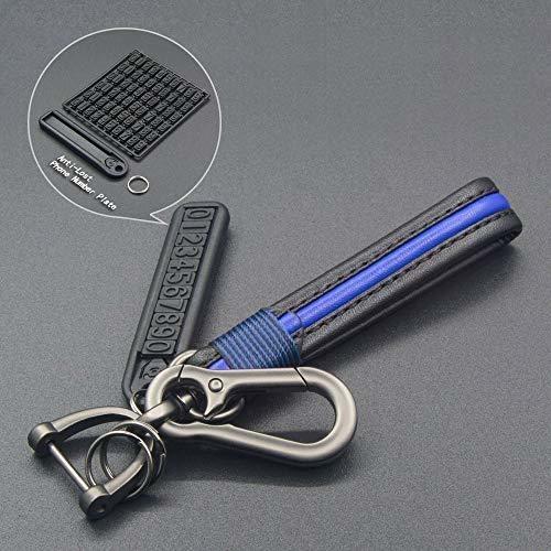 TANGSEN Key Fob Case for KIA Optima Rio Sorento 4 Button Keyless Entry Remote Black Carbon Fiber Pattern ABS Black Silicone Cover