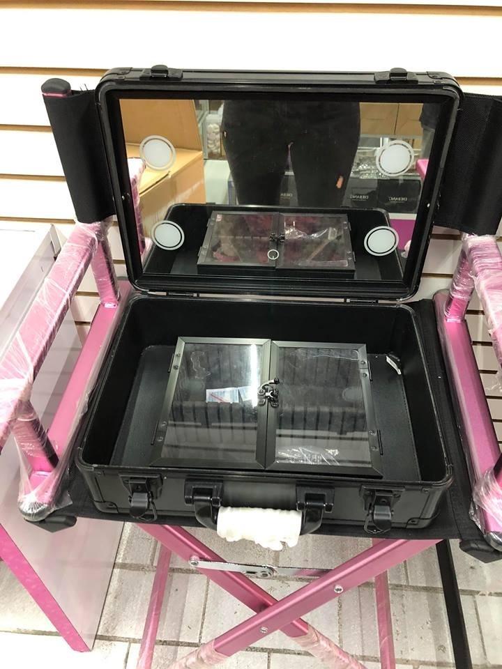 9e08c0a1a Estuche De Maquillaje Maletin Con Luz Led Espejo Touch - $ 2,999.00 ...