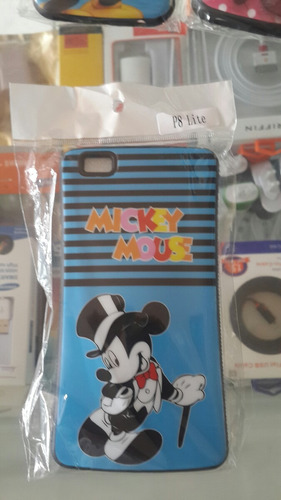 estuche de mickey mouse huawei p8 lite
