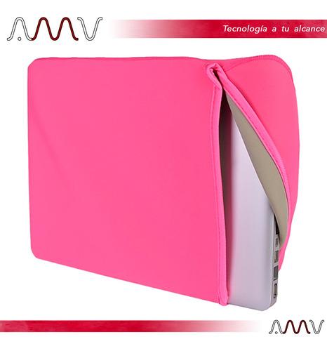 estuche de neopreno para notebook de hasta 13 slickblue amv