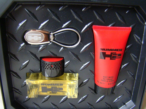 estuche de perfume hummer original para caballero