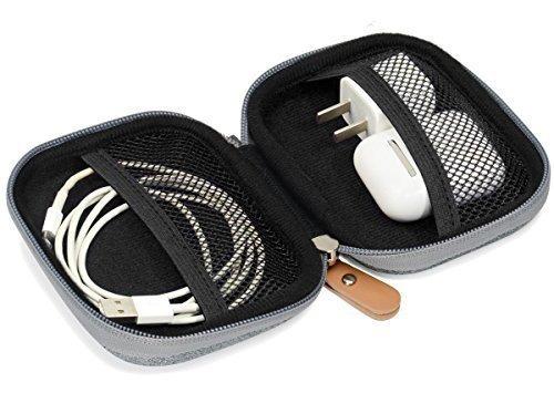 estuche de proteccion y almacenamiento de viaje para airpods