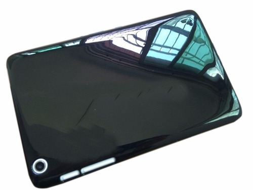 estuche  de silicona tpu  + vidrio lenovo tab essential 7