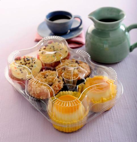 estuche - envase para 6 cupcakes