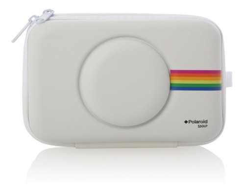 estuche eva para cámara instantánea polaroid snap - white