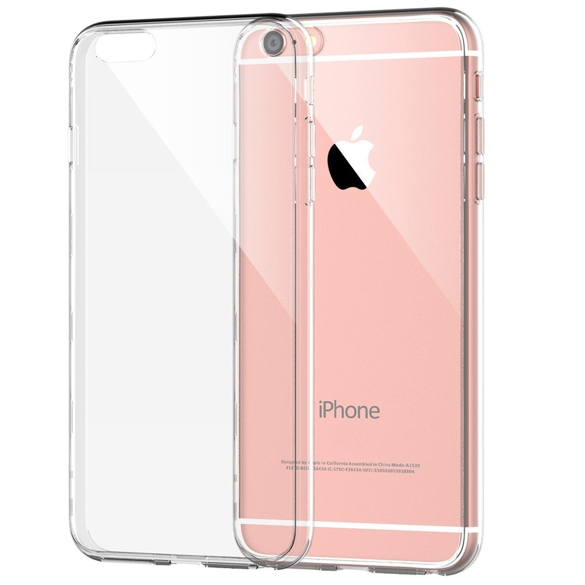 3ae07195bbb estuche flexigel slim transparente celulares iphone 6 s plus. Cargando zoom.