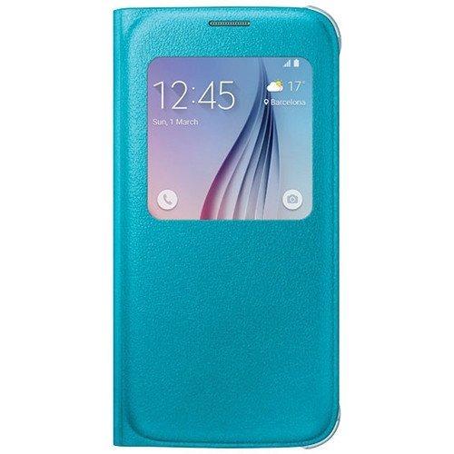 3ee719a528f Estuche Flip Cover Samsung S6 Azul Claro Original - $ 39.000 en Mercado  Libre