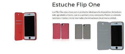 estuche flip one tarjetero lg k8 2017