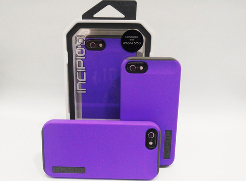 estuche forro antigolpe incipio para iphone 5/5s