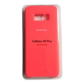 Estuche Forro Funda Silicone Case Samsung Galaxy S8 Plus