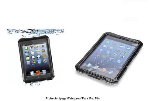 estuche forro ipad min ipega waterproof contra agua