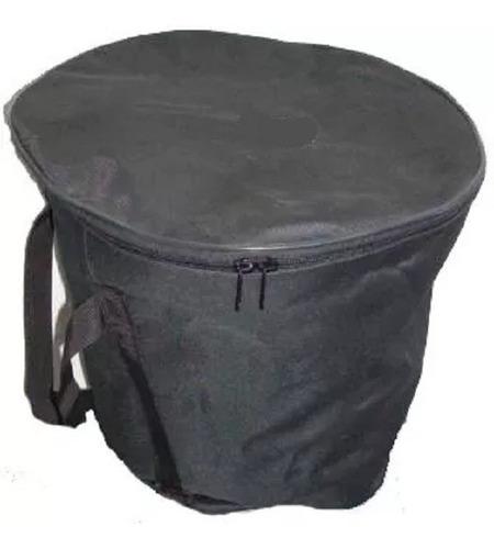 estuche forro lona para caja vallenata  gran diseño