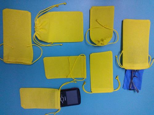 estuche / forro para lentes y celulares tipo tula