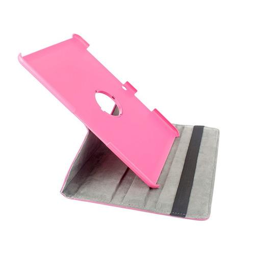 estuche forro protector gira 360 samsung tab 2 10.1 rosa