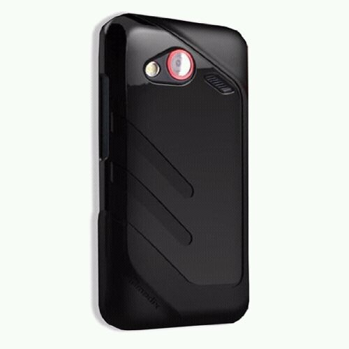 estuche forro protector qmadix para htc incredible +flex gel