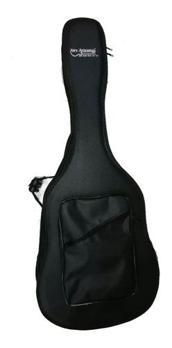 estuche forro semiduro guitarra clasica aire artesanal