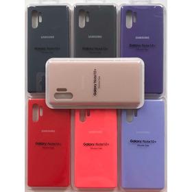 Estuche Forro Silicone Case Samsung Galaxy Note 10 Plus