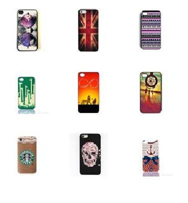 estuche funda duro iphone 6 - 6s varios diseños macrotec