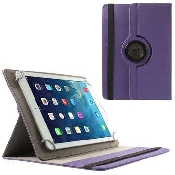 estuche funda eco cuero de tablet 9 universal giratoria 360°