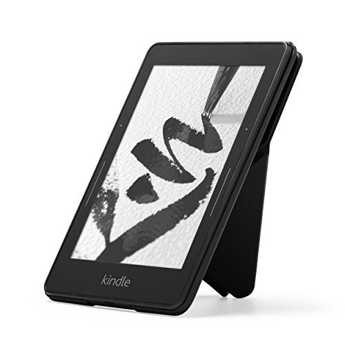 estuche funda para amazon kindle voyage cuero origami