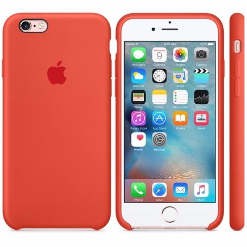estuche funda silicona iphone 6 plus case original oferta