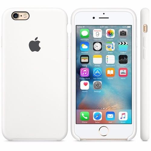 estuche funda silicona iphone 6/6s plus nuevos case