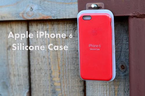 estuche funda silicona iphone 6/6s plus y 7 nuevos case