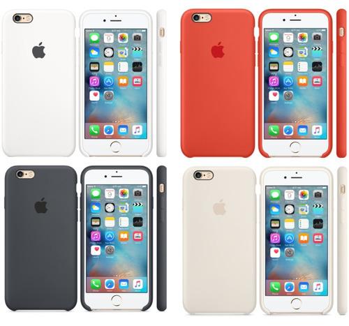 estuche funda silicona iphone 6s plus original oferta
