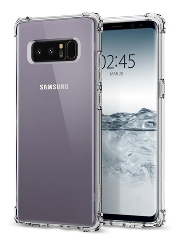 estuche galaxy s9, s9 plus, note8 crystal shell transparente