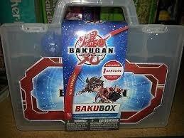 estuche guarda esferas bakugan kreisel juguetes bakubox