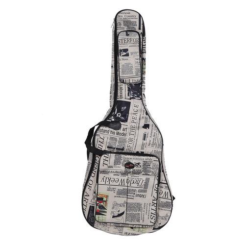 estuche guitarra envio gratis mochila funda case acustica