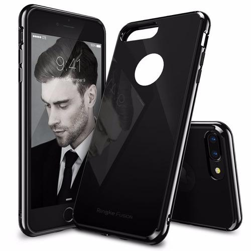 estuche hibrido ringke fusion iphone 7 plus shadow black