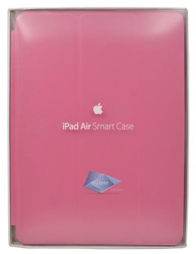estuche ipad air 1 tipo smart case cuero manzana colores