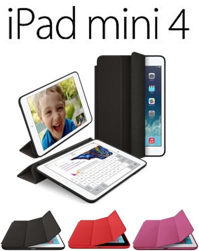 estuche ipad mini 4 funda smart case en cuero caja