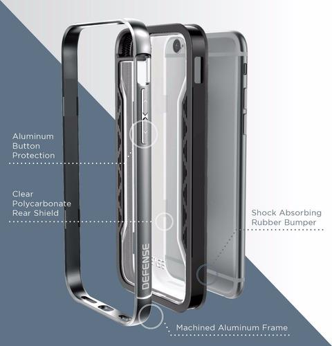 estuche iphone 6 6s protección golpes defense shield