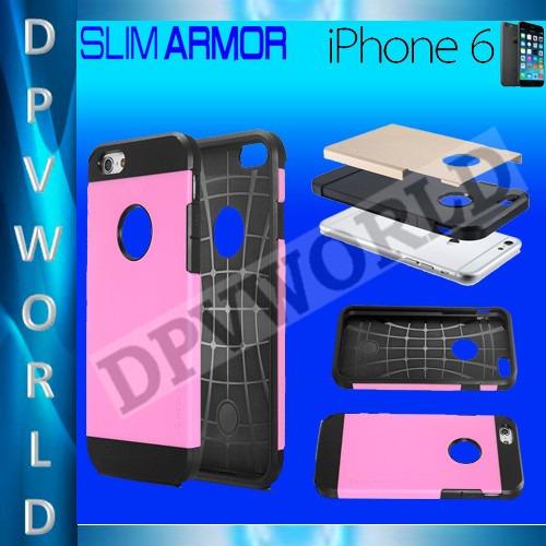 estuche iphone 6s 6  4.7'' sgp armor extra fino hibrido
